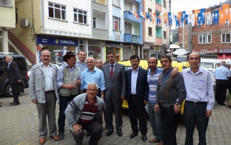 Aydın Bıyıklıoğlu Şalpazarında Danışma Meclisine Katıldı