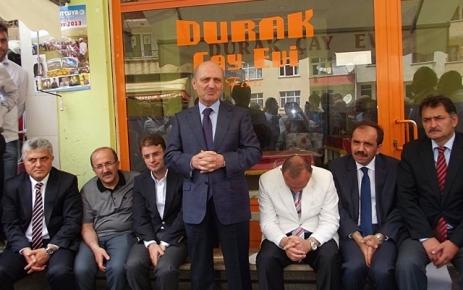 Erdoğan Bayraktar Şalpazarı'nı Ziyaret Etti.