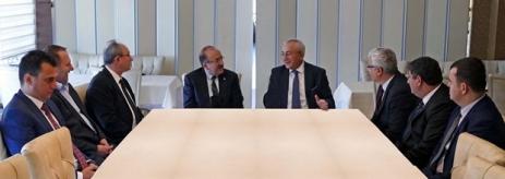 Başkan Gümrükçüoğlu, ilçelere Doğalgaz Ulaştırılabilmesi İçin Harekete Geçti.