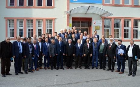 Başkan Gümrükçüoğlu Şalpazarı'nda Muhtarlarla biraraya geldi