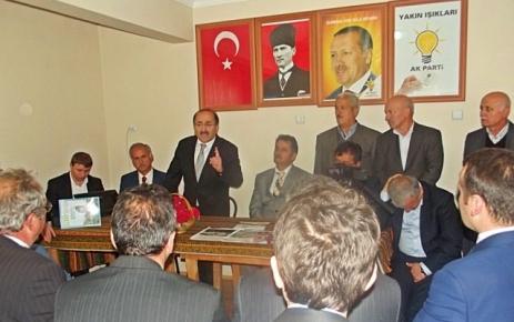 Başkan Gümrükçüoğlu Şalpazarı'nı ziyaret etti.