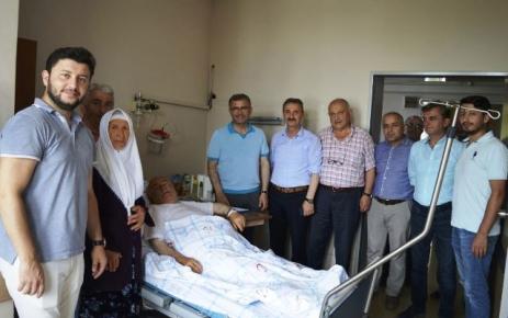 Başkan Hilmi Türkmen İlhan Karaman'ı ziyaret etti.