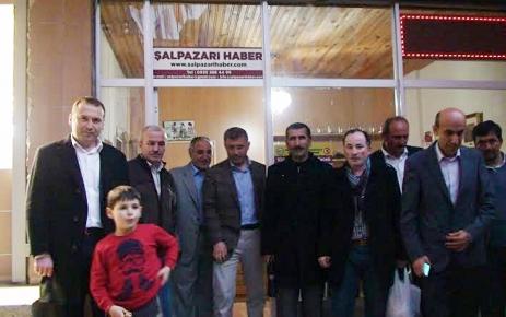 Başkan Türkmen Şalpazarı Esnafını Ziyaret Etti.