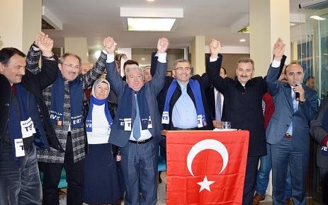 Başkan Türkmen hemşehrileriyle buluştu