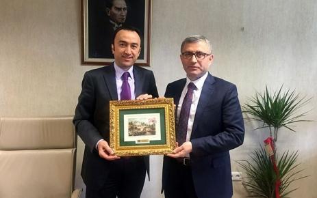 Başkan Türkmen Turan Konak'ı ziyaret etti.