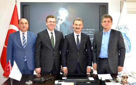 Belediye Başkanları Balta ve Şen Kurukız'ı ziyaret etti