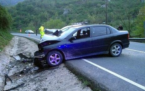 Beşikdüzü Şalpazarı Karayolunda Trafik Kazası