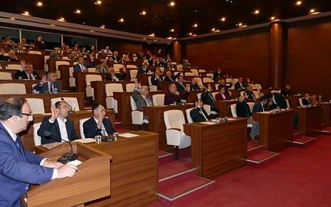 Büyükşehir Belediyesi ve ilçe Belediyelerinin 2016 mali yılı bütçeleri kabul edildi.