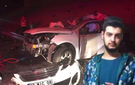 Çağan Duran trafik kazasında hayatını kaybetti.
