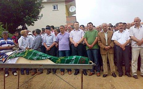 Çamkiriş Köyünde cenaze