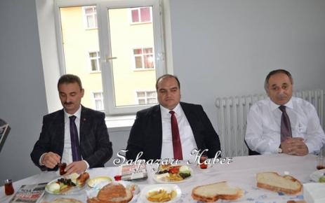 Daire Müdürleri Kahvaltılı Toplantıda Bir Araya Geldi.