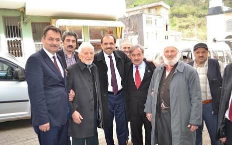 Erdoğan Bayraktar Şalpazarı'na Geldi.