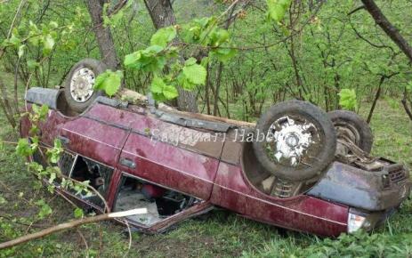 Geyikli Lügütdü Mahallesinde Trafik Kazası ucuz atlatıldı.