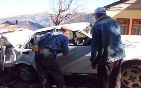 Geyikli'de Trafik Kazası.