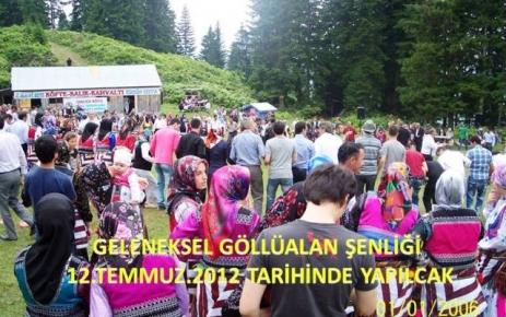 Göllüalan  Şenliği Tarihi Belli Oldu..