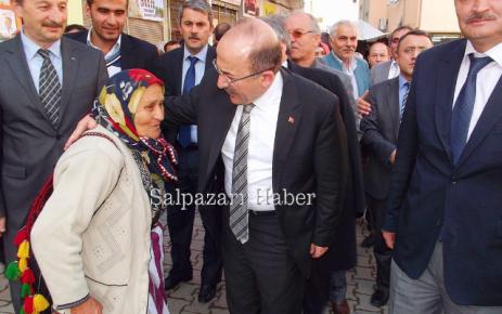 Gümrükçüoğlu'ndan Şalpazarı'na Ziyaret.
