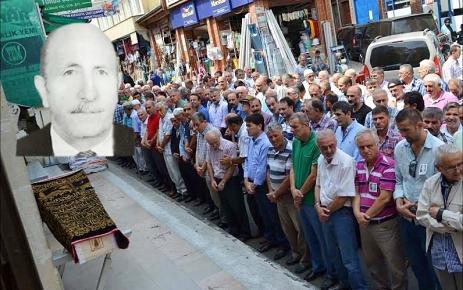 Hacı Halil Çolak Trabzon da toprağa verildi.