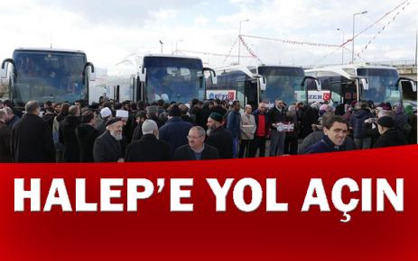 """""""Halep'e yol açın"""""""