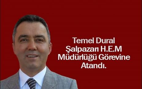 Halk Eğitim Merkezi Müdürlüğü görevine Temel Dural atandı.