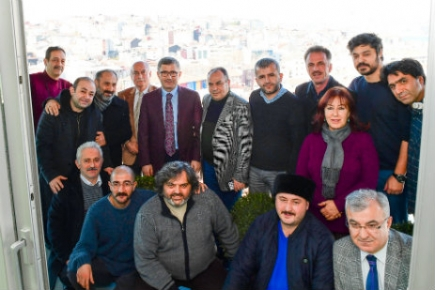 Hilmi Türkmen basınla buluştu
