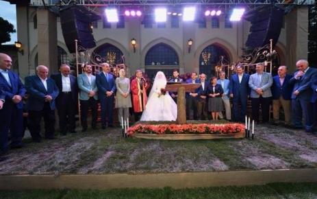 Hilmi Türkmen oğlunun nikahını kıydı