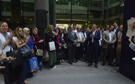 Hilmi Türkmen Üsküdar Belediyesi'yle bayramlaştı