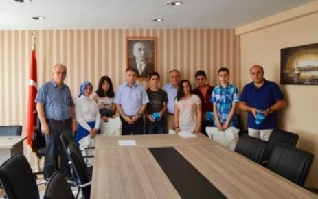 II.Merkezi Ortak Sınav (TEOG)'un Ödülleri Dağıtıldı.