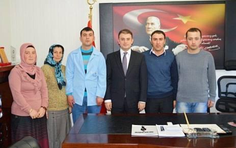 İşkur'dan Şalpazarı Kaymakamlığı'na Beş Personel Verildi.