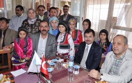 İzmir'de Ağasarlılar Derneği önemli misafirler ağırladı..