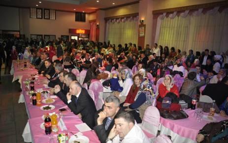 Kasımağzı Derneği'nin Düzenlediği Dostluk ve Dayanışma gecesi yapıldı.