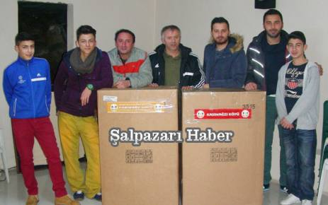 Kasımağzı Köyü Yardımlaşma ve Dayanışma Derneği'nden Van'a destek.