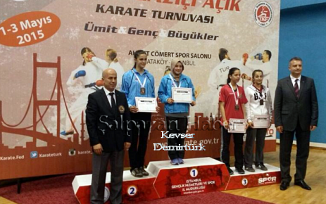 Kevser Dermirtürk'ten Bir Altın Madalya Daha.