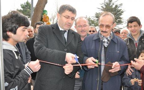 Kirazlıtepe'de Kandil kafeterya açıldı.
