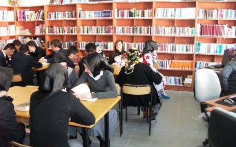 Kütüphaneler haftası ilçemizde kutlandı..