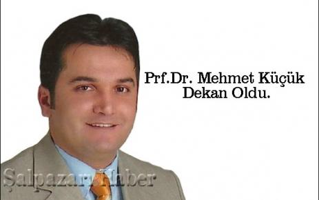 Mehmet Küçük Dekan Oldu.