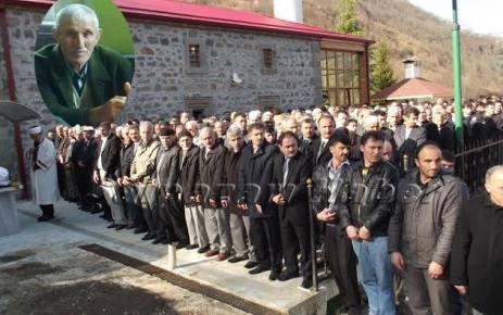 Mehmet Muhcu toprağa verildi.