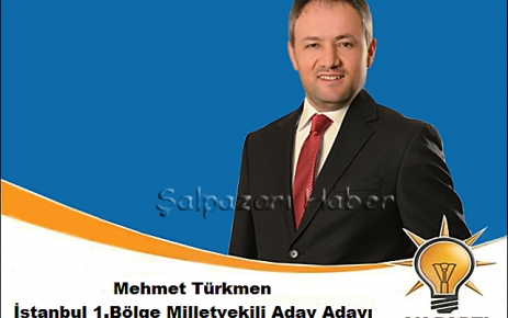 Mehmet Türkmen AK Parti'den aday adayı.