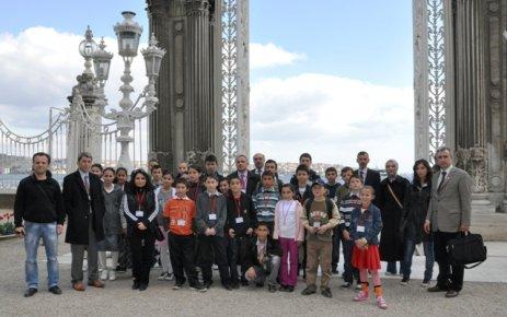 ''Memleketimin çocukları İstanbul'da 2. günü''