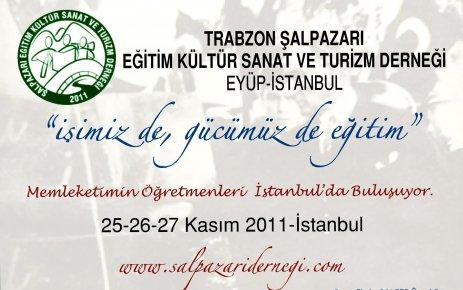 Memleketimin Öğretmenleri İstanbul'da Buluşuyor.