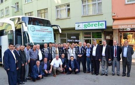Memleketimin Yöneticileri Şalpazarı'ndan İstanbul'a Haraket etti.