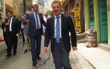 MHP Adana Milletvekili Muharem  Varlı Şalpazarı'nı ziyaret etti.
