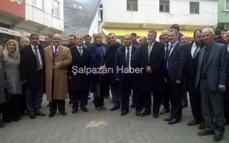 MHP Şalpazarı İlçe Teşkilatı'ndan Aday tanıtım programı