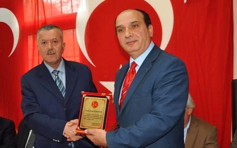MHP İlçe Başkanlığında Devir Teslim Töreni.