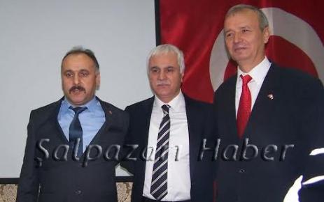 MHP Şalpazarı İlçe Başkanlığına Pirağa Yaşar Seçildi.