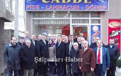 MHP Trabzon Büyükşehir Belediye Başkan Adayı Dr. Hüseyin Örs Şalpazarı'nı ziyaret etti.