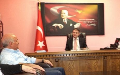 Millet Vekili Aydın Bıyıklıoğlu Kaymakam Zihni Yıldızhanı ziyaret etti.