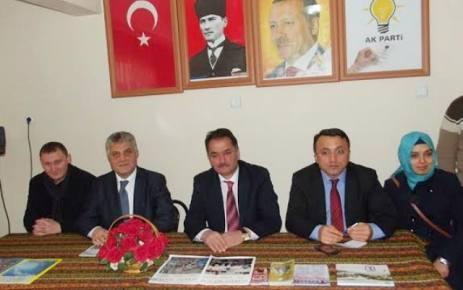 İl Başkanı Adnan Günnar'ın ziyareti heyecan yarattı.