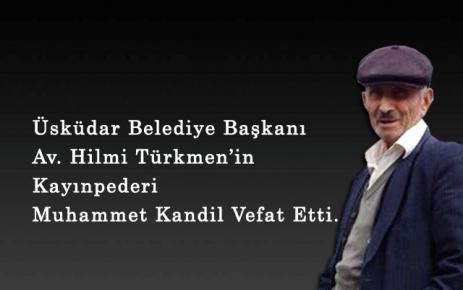 Muhammet Kandil Vefat Etti.