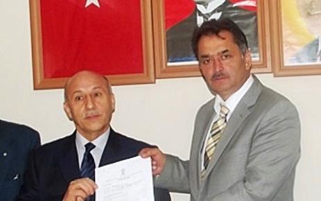 Mustafa Demir Aday Adaylığı Müracaatını Yaptı.