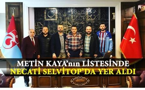 Necati Selvitop Metin Kaya'nın Listesine Girdi.